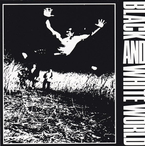 BLACK & WHITE WORLD - BLACK & WHITE WORLD (*NEW-CD, 1991, Blonde Vinyl) Mike Knott prod