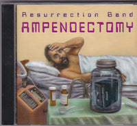 REZ/RESURRECTION BAND - AMPENDECTOMY (*Used-CD, 1997, Grrr)