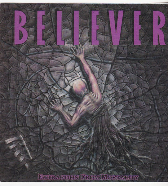 BELIEVER - EXTRACTION FROM MORTALITY (*Used-CD, 1989, R.E.X.) Original Issue