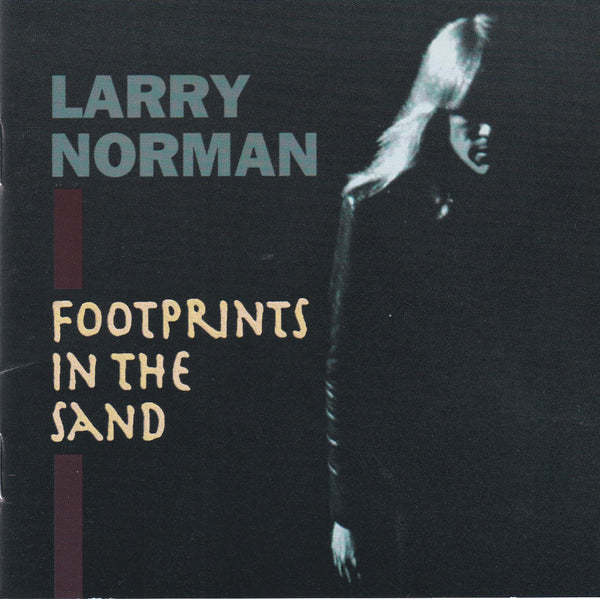 LARRY NORMAN - FOOTPRINTS IN THE SAND (*CD, 1993, SLD-027 Street Level Records)
