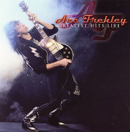 Ace Frehley ‎– Greatest Hits Live (*Used-CD, Megaforce) Kiss
