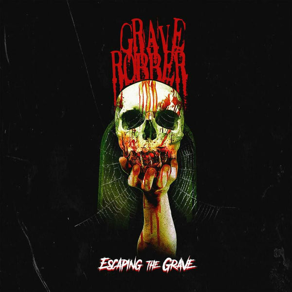 GRAVE ROBBER - ESCAPING THE GRAVE (*NEW-CD, 2018, Rottweiler) horror punk metal