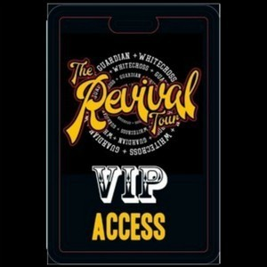 VIP Show Pass + Access Pass  WHITECROSS & GUARDIAN - REVIVAL - VIP Show Pass + Access Pass