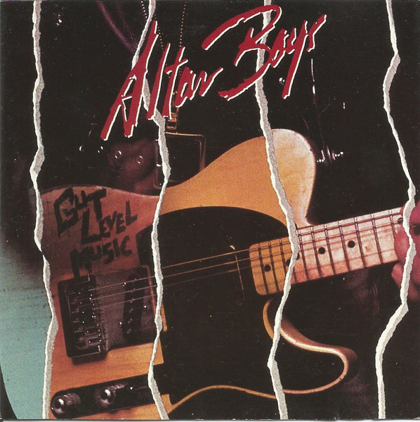 ALTAR BOYS - GUT LEVEL MUSIC (*Used-CD, 1986, Frontline)