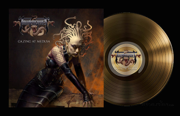TOURNIQUET - GAZING AT MEDUSA (*BRONZE VINYL, 2019, Pathogenic Records)