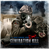 Generation Kill ‎– Red White And Blood (*Used-CD, 2011, Season of Mist) ex-M,O,D, & Exodus THRASH!
