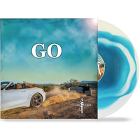 JOHN SCHLITT - GO (Limited 200 Run Powder Blue & White Swirl Vinyl) Lead Singer of Petra