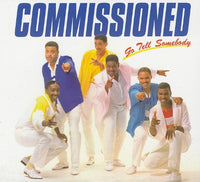 COMMISSIONED - GO TELL SOMEBODY (*NEW-CD, 2009, Retroactive) Black Gospel