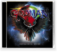 GODMAN - HYPOSTATIC UNION (*NEW-CD, 2020, Bombworks Records) Tiago (Perpetual Paranoia) Jonathan Johnson (Sacred Warrior/Deny the Fallen)