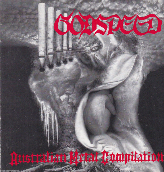 GODSPEED: AUSTRALIAN METAL COMP (*Used-CD, 1994, Rowe) Discarnated, Mortification