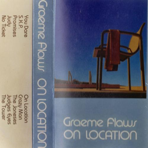 GRAEME FLAWS-ON LOCATION DEMO TAPE Christian rock The Velvettes Steve Apirana