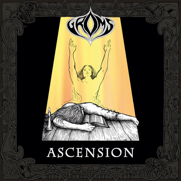 GROMS - ASCENSION / TURN (*NEW-2 CD Set, 2019, Nordic Mission) Historic Christian Death Metal w Turn demo