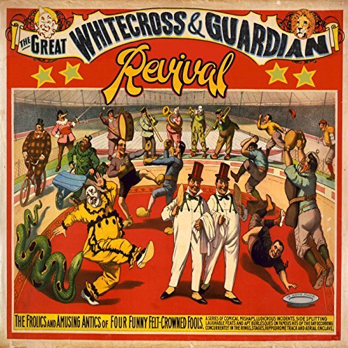 WHITECROSS + GUARDIAN - REVIVAL (*NEW-CD, 2017) Rex Carroll & Jamie Rowe + more!