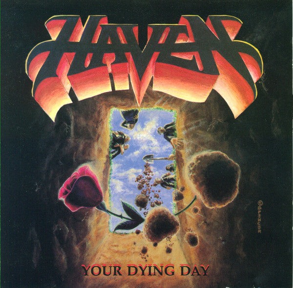 HAVEN - YOUR DYING DAY (*NEW-CD, 1990, R.E.X.) Sealed Original Issue
