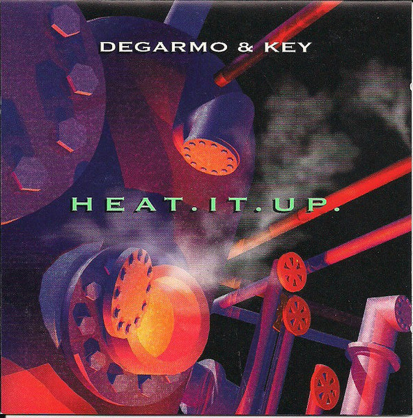 DEGARMO & KEY - HEAT IT UP (*Used-CD, 1993, Benson)