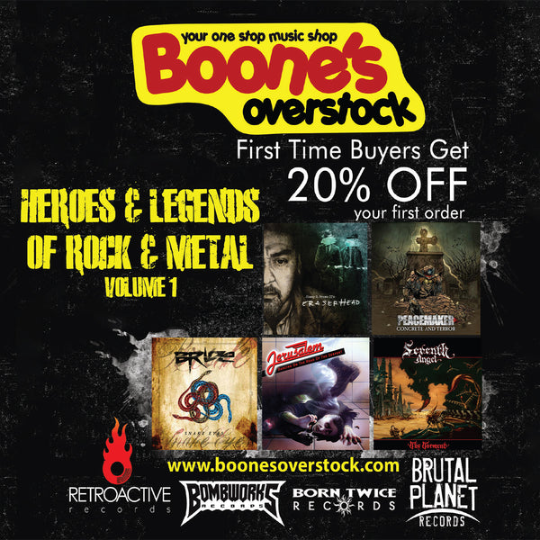 VARIOUS ARTISTS - HEROES & LEGENDS OF ROCK & METAL, VOL 1