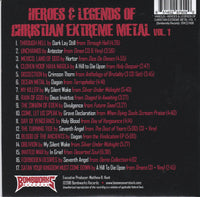 VARIOUS ARTIST - HEROES & LEGENDS OF CHRISTIAN EXTREME METAL: VOLUME ONE (*NEW-CD, 2018)