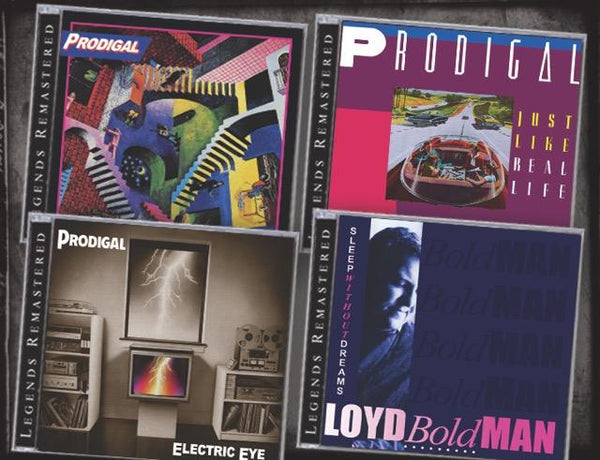 LOT OF 4 PRODIGAL CDs *NEW 2018 Reissues 5 CDs/4 Albums