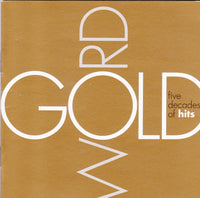 WORD GOLD: FIVE DECADES OF HITS (*NEW-2-CD Set, 2001, Word Records) Sixpence, Randy Matthews, Stonehill, Imperials, Keaggy etc