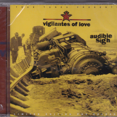 VIGILANTES OF LOVE - AUDIBLE SIGH (CD, 1999) **1000 unit rare pre-release! -