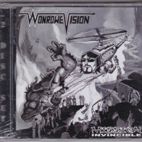 WONROWE VISION - MISSION INVINCIBLE (*CD + DVD, 2010) Steve Rowe Mortification