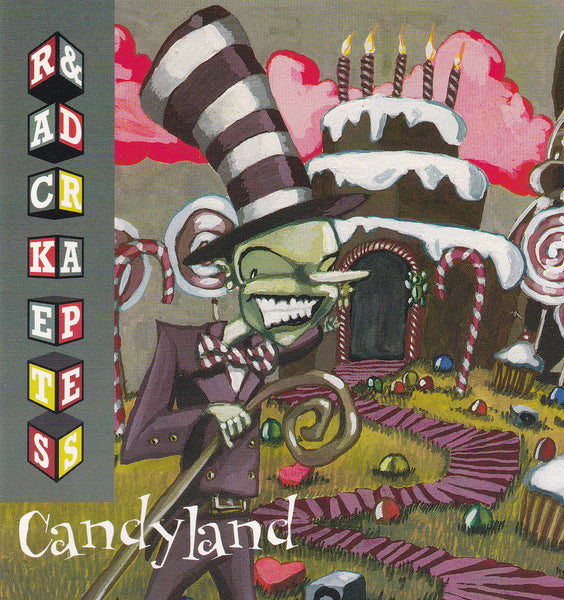 RACKETS & DRAPES - CANDYLAND (*Used-CD, 1998, MCM)