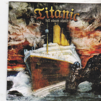 TITANIC - FULL STEAM AHEAD (CD, 2007, Retroactive) Stryper/Robert Sweet