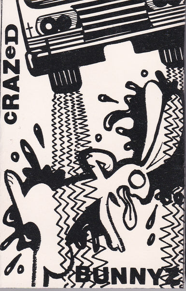 Crazed Bunnyz - Blutgasse 1988 Christian Alternative Industrial DEMO TAPE *NEW SEALED