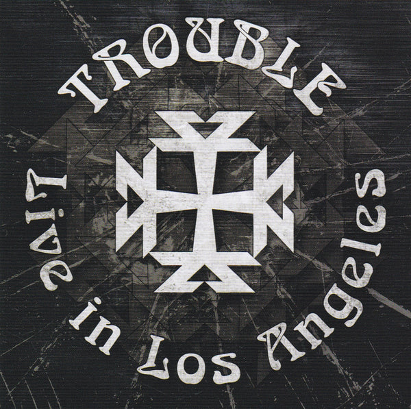 TROUBLE - LIVE IN LOS ANGELES (*Used-CD, 2009, Escape Music) Classic Doom Metal