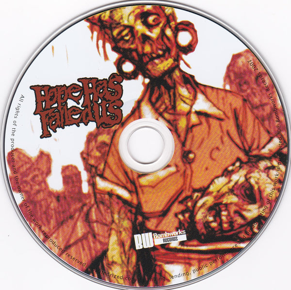 Hope Has Failed Us ‎– Epitaphs & Eulogies (*CD, 2007, Bombworks Records) Amazing Christian extreme metal