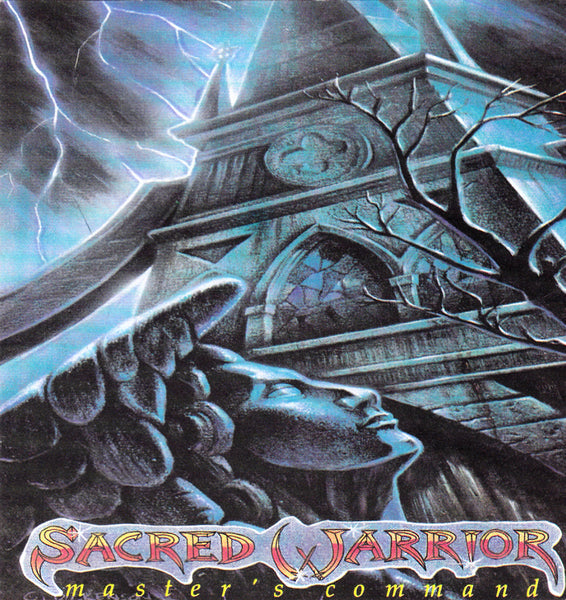 SACRED WARRIOR - MASTER'S COMMAND (*CD, 1989, Intense Records-09075) Original Issue