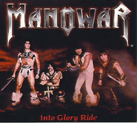 Manowar ‎– Into Glory Ride (*Used-CD, 2001, Metal Blade Records)