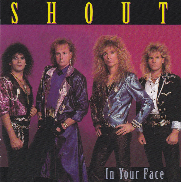 SHOUT - IN YOUR FACE (*NEW-CD, 2019, Girder Records) 2019 Remaster