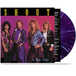 SHOUT - IN YOUR FACE (*Splatter - VINYL) LIMITED 200 UNITS