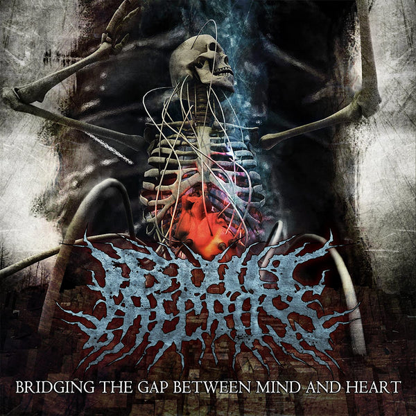 I Built The Cross ‎– Bridging The Gap Between Mind And Heart (*NEW-CD, 2009, Open Grave) Brilliant technical death metal