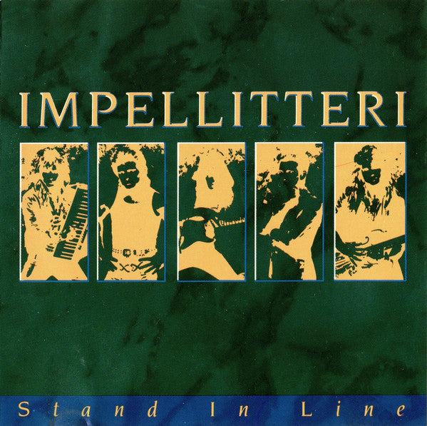IMPELLITTERI - STAND IN LINE (*Used-CD, 1988, Relativity)