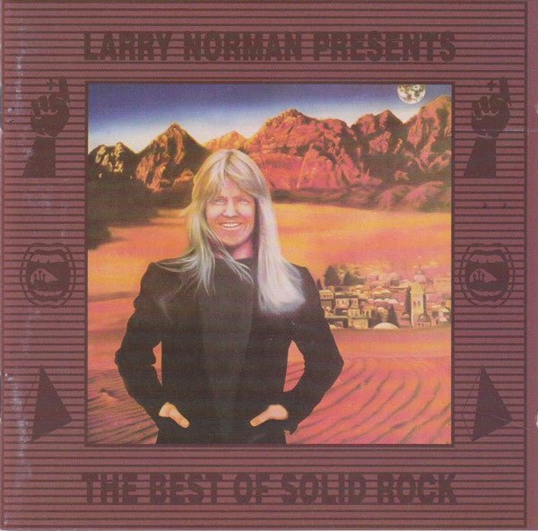 LARRY NORMAN - IN ANOTHER LAND (*Used-CD, 1991, Spark/Solid Rock) UK Import