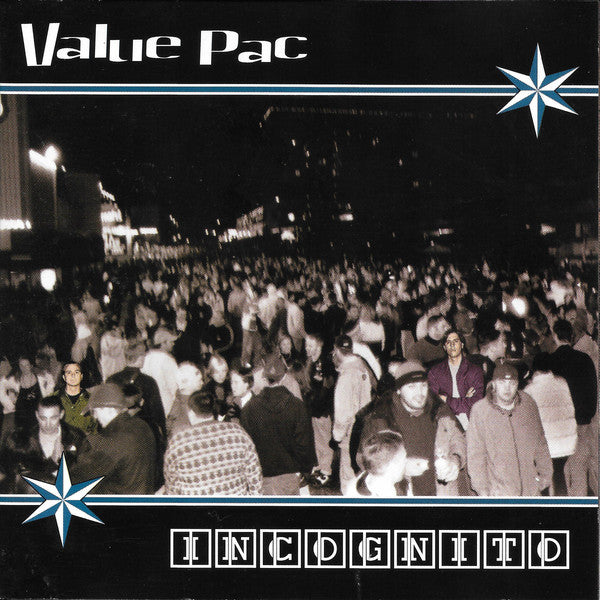 VALUE PAC - INCOGNITO (*NEW-CD, 2000, Four Door Entertainment) elite Christian pop punk