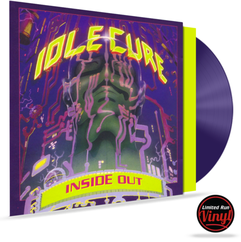 IDLE CURE - INSIDE OUT (*RANDOM COLORED VINYL) LIMITED RUN VINYL W/INSERTS