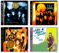JAG (4-CD BUNDLE) Longest Road, The Only World In Town, Fire In the Temple, It's Your Choice