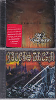 LOT OF 4 CD XIAN METAL JACOBS DREAM. BOARDERS, HERO, BETOKEN Bundle