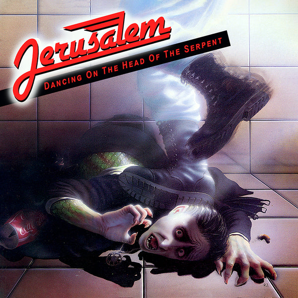 JERUSALEM - DANCING ON THE HEAD OF THE SERPENT (Legends Remastered) 30th Anniversary Edition (*NEW-CD, 2018, Retroactive Records)