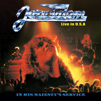 JERUSALEM - IN HIS MAJESTY'S SERVICE: Live In the USA (Legends Remastered) (*NEW-CD, 2018, Retroactive)
