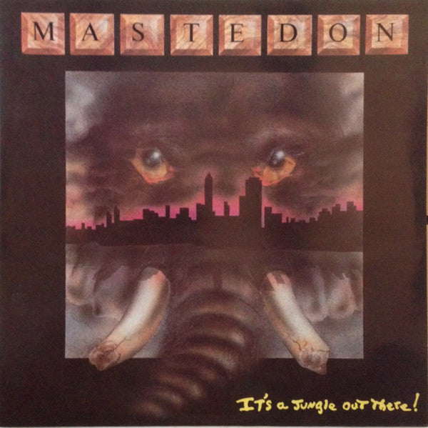 MASTEDON - IT'S A JUNGLE OUT THERE! (*Used-Vinyl, 1990, Regency)