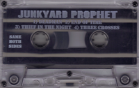 JUNKYARD PROPHET-IN YOUR FACE 1995-ish Christian Metal DEMO TAPE