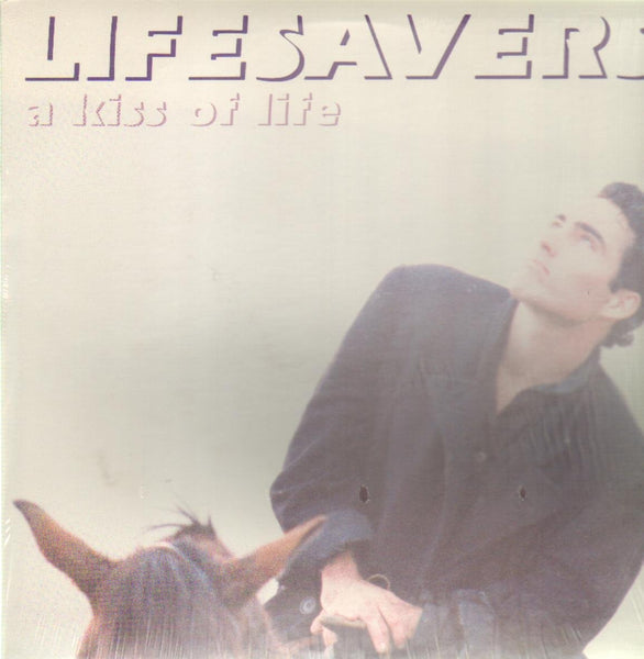 LIFESAVERS - KISS OF LIFE (*Pre-Owned Vinyl, 1986, Frontline) Mike Knott band!