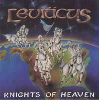 Leviticus ‎– Knights Of Heaven (*Pre-Owned CD, 1989, Royal Music) John & Dino Elefante Mastedon Produced