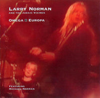 "LARRY NOMAN - OMEGA EUROPA (*Used-CD, 1994, Solid Rock) Rare ""One Foot Toward The Grave"""