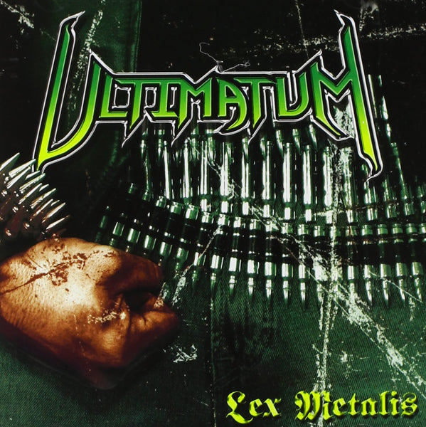ULTIMATUM - LEX METALIS (*NEW-CD, 2009, Retroactive Records) Thrash!!!
