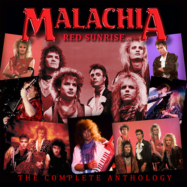 MALACHIA - RED SUNRISE ANTHOLOGY (*2-CD Set, 2018, Roxx Records)